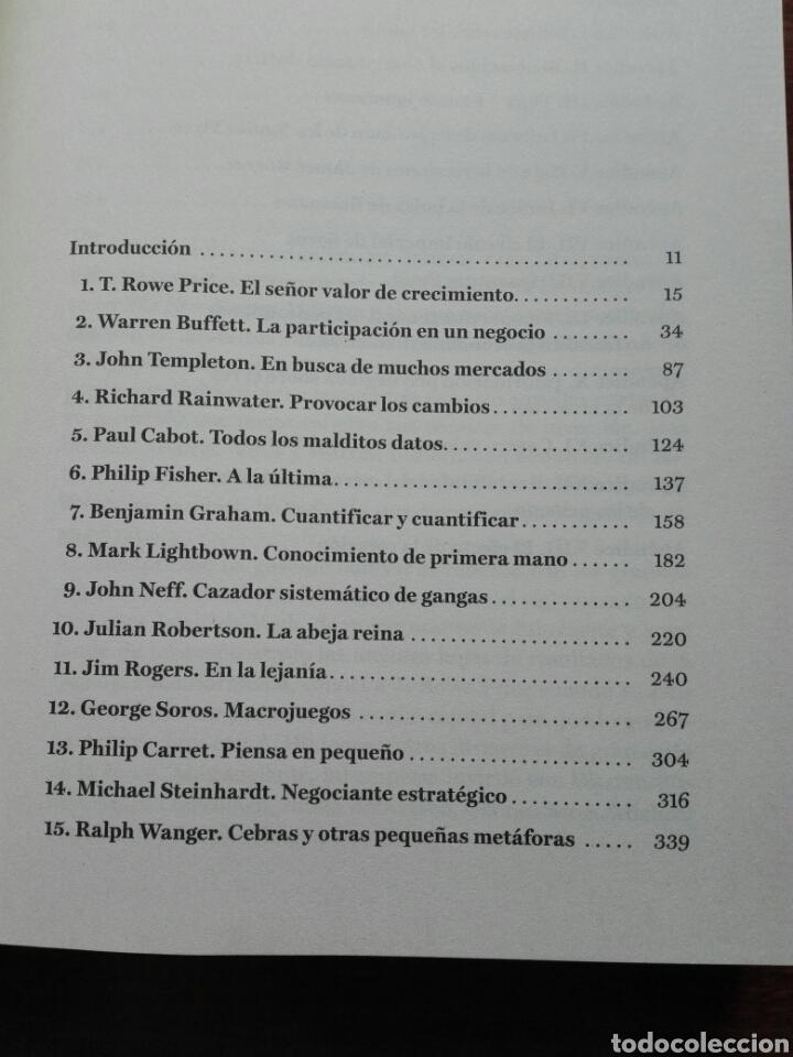 Libros: Grandes maestros de la inversión Descubre las técnicas y las estrategias ganadoras. John train nuevo - Foto 3 - 192685525
