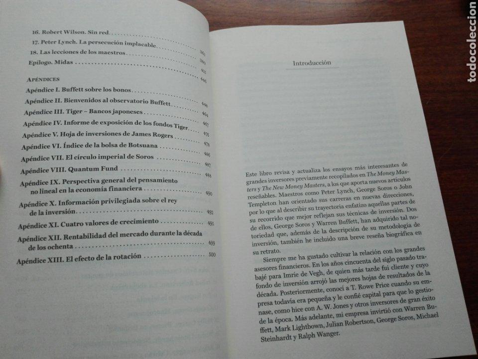 Libros: Grandes maestros de la inversión Descubre las técnicas y las estrategias ganadoras. John train nuevo - Foto 4 - 192685525