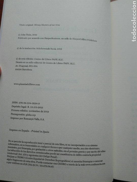 Libros: Grandes maestros de la inversión Descubre las técnicas y las estrategias ganadoras. John train nuevo - Foto 5 - 192685525