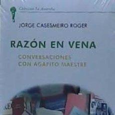 Libros: RAZON EN VENA. Lote 194008013