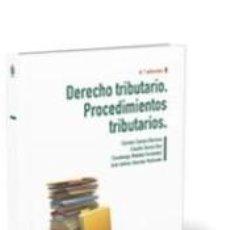 Libros: DERECHO TRIBUTARIO. PROCEDIMIENTOS TRIBUTARIOS. Lote 194394733