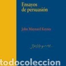 Libros: ENSAYOS DE PERSUASIóN. Lote 194400870