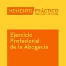 Libros: MEMENTO EJERCICIO PROFESIONAL DE LA ABOGACÍA 2020. Lote 195278251