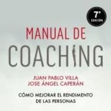 Libros: MANUAL DE COACHING. Lote 195382446
