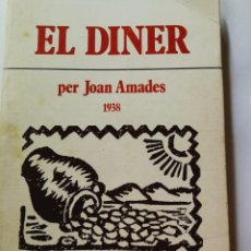 Libros: EL DINER- JOAN AMADES. Lote 197117460
