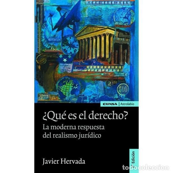 ¿QUÉ ES EL DERECHO? (JAVIER HERVADA) EUNSA 2011 (Libros Nuevos - Ciencias, Manuales y Oficios - Derecho y Economía)