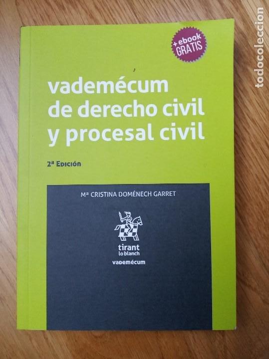VADEMECUM DERECHO CIVIL Y PROCESAL CIVIL 2ª EDICIÓN (Libros Nuevos - Ciencias, Manuales y Oficios - Derecho y Economía)