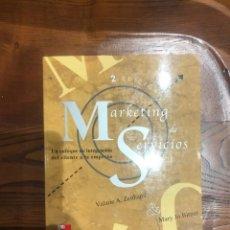 Libros: MARKETING DE SERVICIOS - ZEITHAML & JO BITNER - MC GRAW HILL - 2ª EDICION - 2002. Lote 201550096
