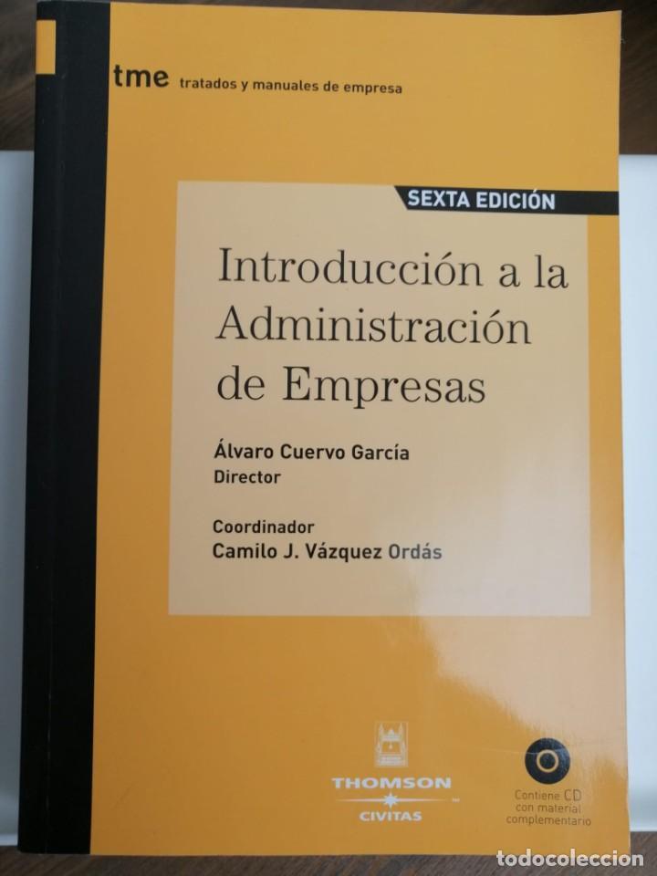 INTRODUCCIÓN A LA ADMINISTRACIÓN DE EMPRESAS. ÁLVARO CUERVO (Libros Nuevos - Ciencias, Manuales y Oficios - Derecho y Economía)