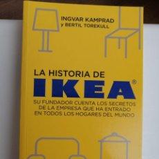 Libros: LA HISTORIA DE IKEA.. Lote 201862733