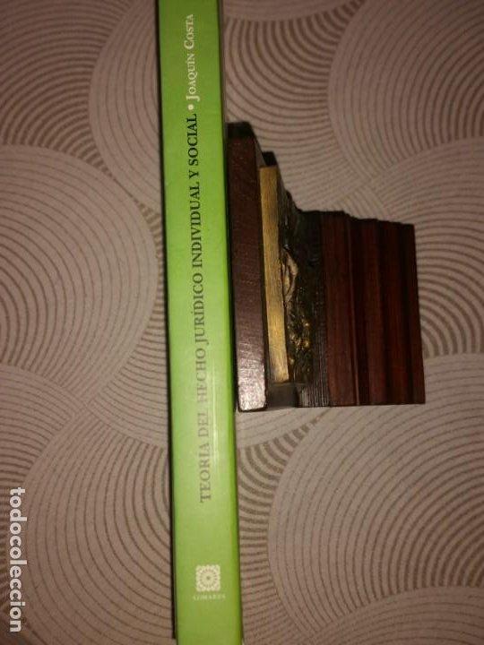 Libros: Teoría del hecho jurídico individual y social. Costa, Joaquín (1846-1911) - Editorial Comares: 2000 - Foto 3 - 204370575
