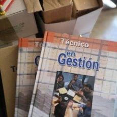 Libros: TECNICO EN GESTION, 2 TOMOS. Lote 204617685