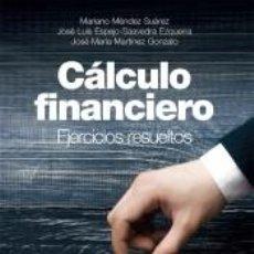 Libros: CÁLCULO FINANCIERO. Lote 207155798