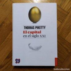 Libros: EL CAPITAL EN EL SIGLO XXI - THOMAS PIKETTY. Lote 207251303