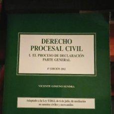 Libros: DERECHO PROCESAL CIVIL PARTE GENERAL PARA UNED. Lote 210458520