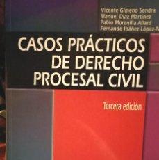 Libros: CASOS PRÁCTICOS DE DERECHO PROCESAL CIVIL PARA UNED. Lote 210458886