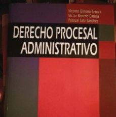 Libros: DERECHO PROCESAL ADMINISTRATIVO PARA UNED. Lote 210458945