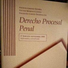 Libros: DERECHO PROCESAL PENAL PARA UNED. Lote 210459012