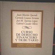 Libros: CURSO DE DERECHO FINANCIERO Y TRIBUTARIO PARA UNED. Lote 210459220