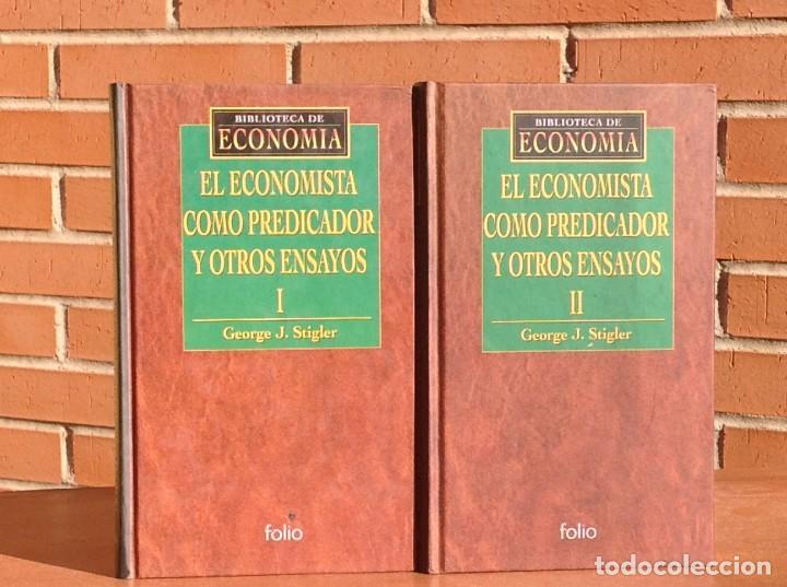 GEORGE J. STIGLER: EL ECONOMISTA COMO PREDICADOR Y OTROS ENSAYOS (Libros Nuevos - Ciencias, Manuales y Oficios - Derecho y Economía)