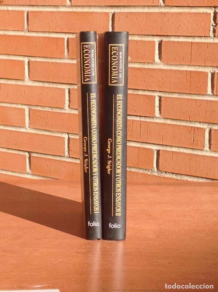 Libros: George J. Stigler: El economista como predicador y otros ensayos - Foto 2 - 210552333