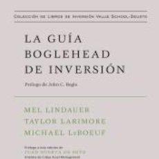 Libros: LA GUÍA BOGLEHEAD DE INVERSIÓN. Lote 210641355