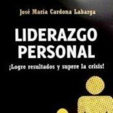 Libros: LIDERAZGO PERSONAL. Lote 211675786