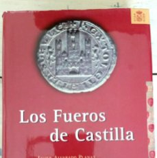 Libros: LOS FUEROS DE CASTILLA - JAVIER ALVARADO PLANAS, Y GONZALO OLIVA MANSO. Lote 217179555