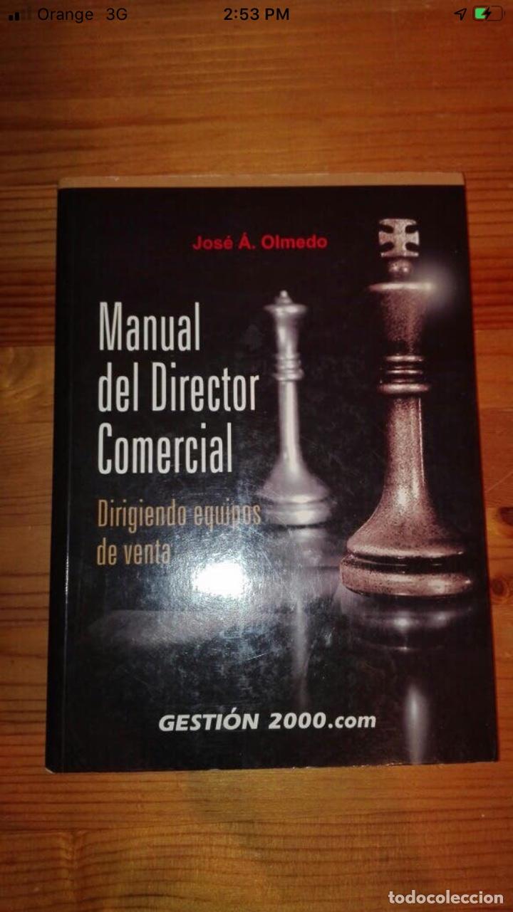 MANUAL DEL DIRECTOR COMERCIAL (Libros Nuevos - Ciencias, Manuales y Oficios - Derecho y Economía)