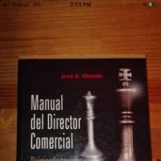 Libros: MANUAL DEL DIRECTOR COMERCIAL. Lote 217231281