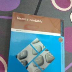 Libros: ADMINISTRACIÓN Y GESTIÓN. TÉCNICA CONTABLE. EDITEX 2010. Lote 217901432