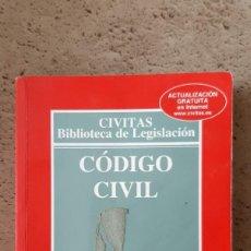 Libros: LIBRO DE CODIGO CIVIL. 27ª EDICION. Lote 218177515
