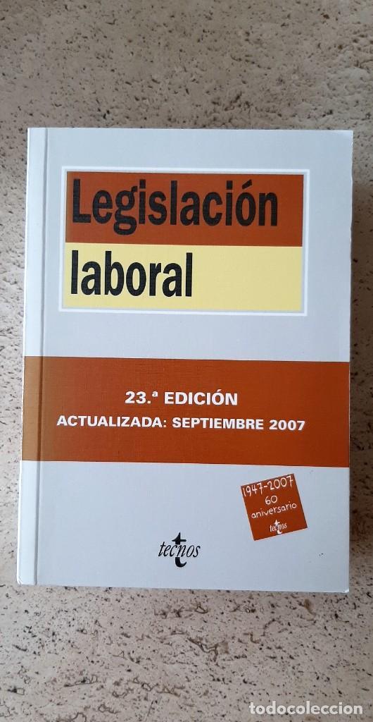 LIBRO DE LEGISLACION LABORAL. (Libros Nuevos - Ciencias, Manuales y Oficios - Derecho y Economía)