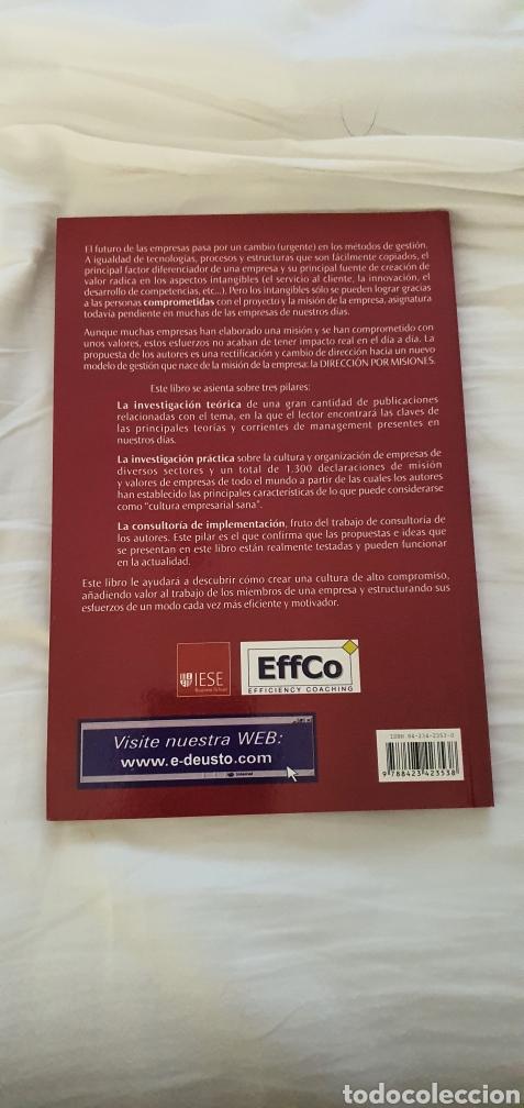 Libros: Dirección por misiones. Pablo Cardona - Foto 2 - 218515631