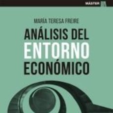 Libros: ANÁLISIS DEL ENTORNO ECONÓMICO. Lote 218673051