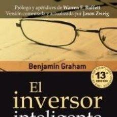 Libros: EL INVERSOR INTELIGENTE. Lote 218700716