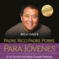 Libri: PADRE RICO, PADRE POBRE PARA JÓVENES. Lote 219963032