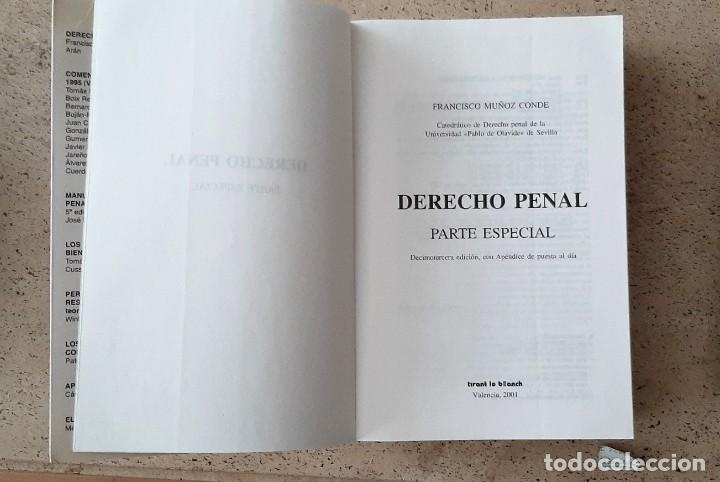 Libros: LIBRO DE DERECHO PENAL - Foto 2 - 220254242