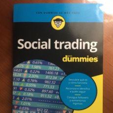 Libros: SOCIAL TRADING PARA DUMMIES. JOSEF AJRAM Y RAZA PÉREZ. Lote 220453451