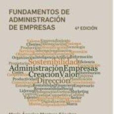 Libros: FUNDAMENTOS DE ADMINISTRACION DE EMPRESAS. Lote 221662962