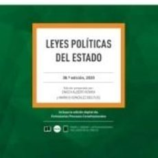 Libros: LEYES POLITICAS DEL ESTADO. Lote 221753292