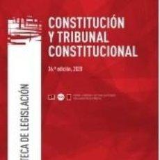 Libros: CONSTITUCIÓN Y TRIBUNAL CONSTITUCIONAL 2020. Lote 221858735