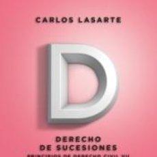 Libros: PRINCIPIOS DE DERECHO CIVIL: TOMO VII: DERECHO DE SUCESIONES. Lote 222027430