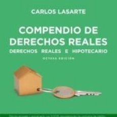 Libros: COMPENDIO DE DERECHO REALES. Lote 222439543