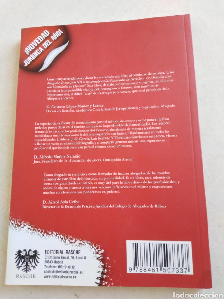Libros: La técnica del interrogatorio - Foto 2 - 222450580