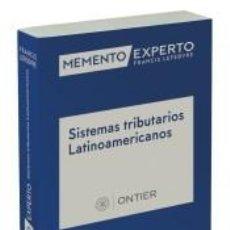 Libros: MEMENTO EXPERTO TRIBUTACIÓN EN AMÉRICA LATINA. Lote 222624146