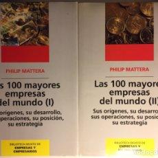 Libros: LAS 100 MAYORES EMPRESAS DEL MUNDO. PHILIP MATTERA. Lote 222646398