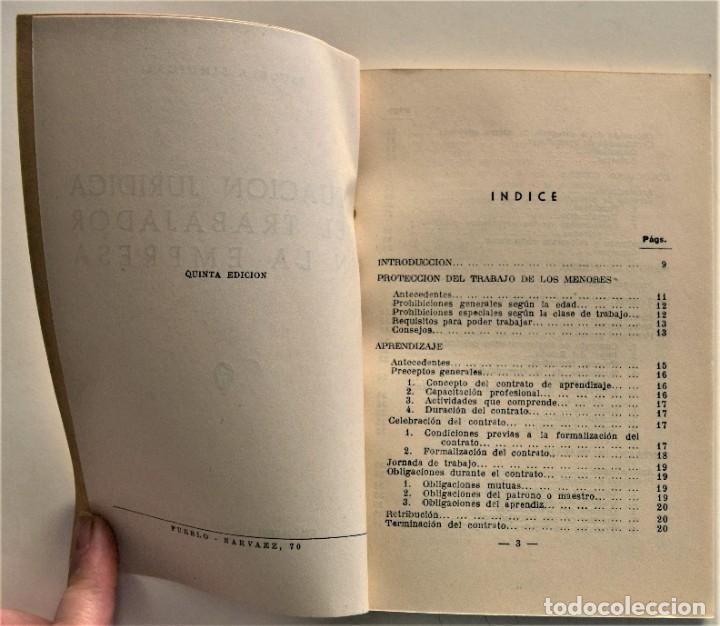 Libros: LOTE CUATRO PUBLICACIONES ESCUELA SINDICAL DE LA F.E.T. Y DE LAS J.ON.S. AÑOS 50 - VER RELACIÓN - Foto 4 - 225207857