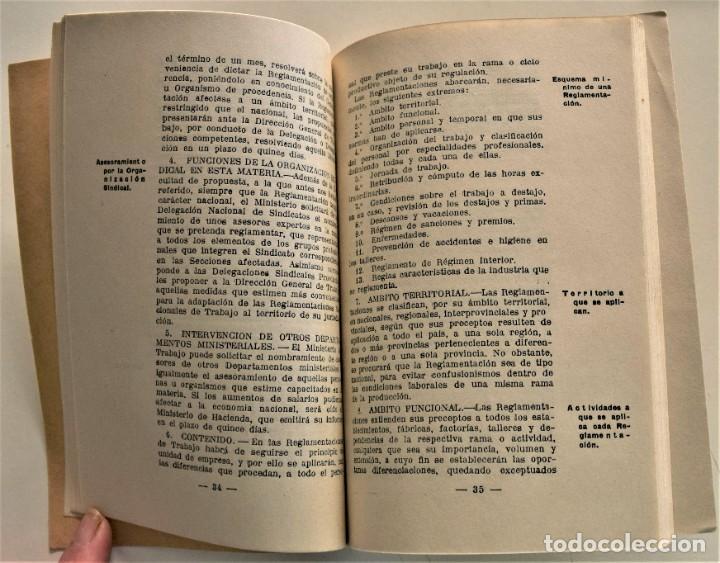 Libros: LOTE CUATRO PUBLICACIONES ESCUELA SINDICAL DE LA F.E.T. Y DE LAS J.ON.S. AÑOS 50 - VER RELACIÓN - Foto 6 - 225207857