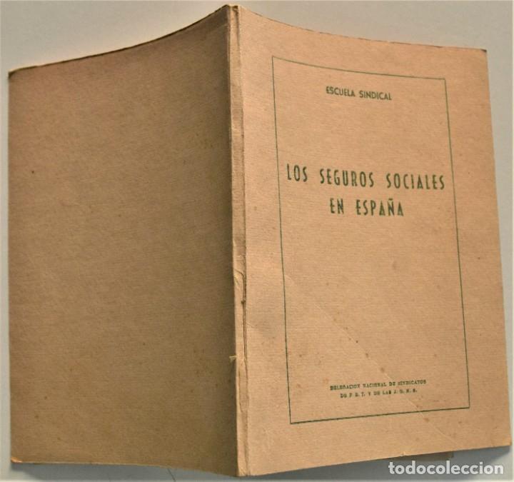 Libros: LOTE CUATRO PUBLICACIONES ESCUELA SINDICAL DE LA F.E.T. Y DE LAS J.ON.S. AÑOS 50 - VER RELACIÓN - Foto 7 - 225207857